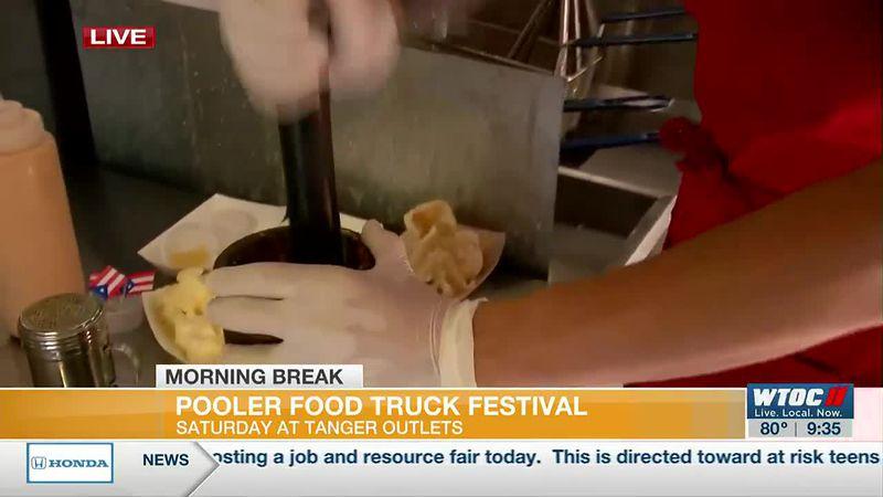 Tanger Outlets hosting Pooler Food Truck Festival