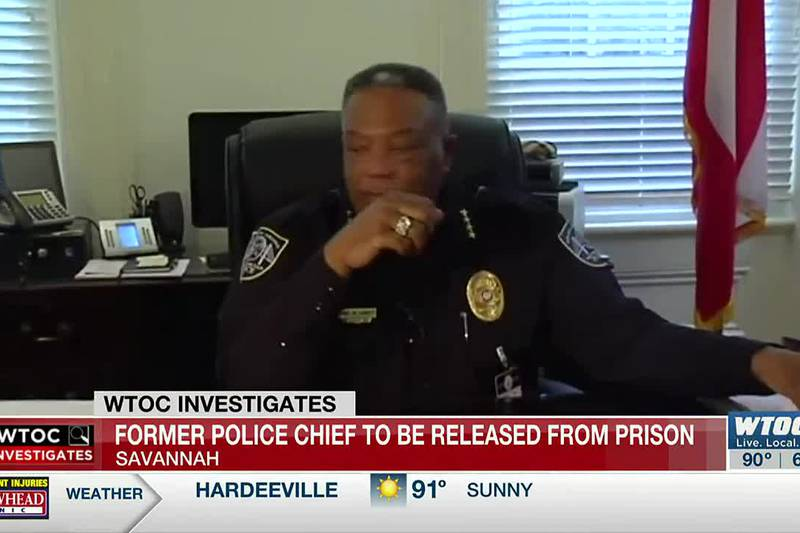Former Savannah police chief to be released from prison