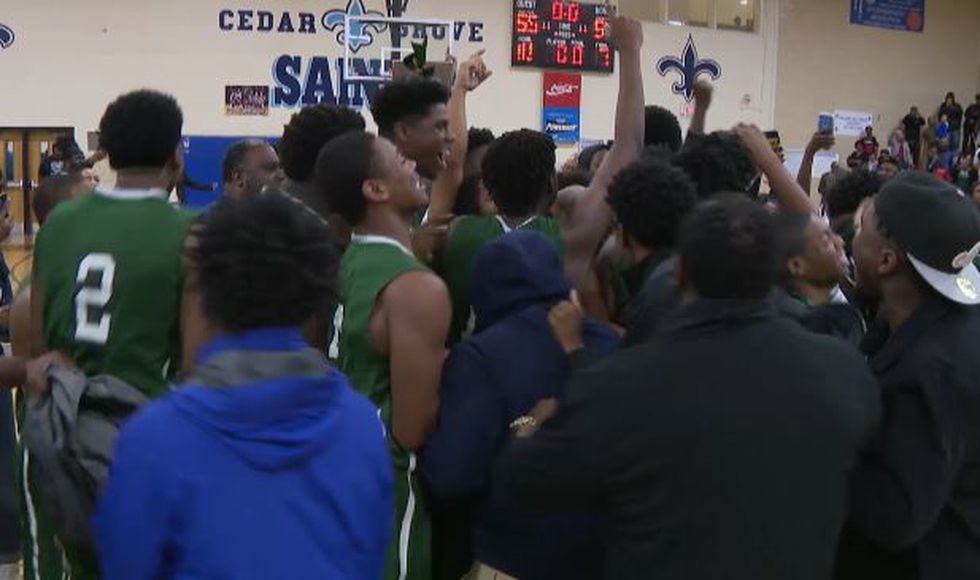 The Knights knocked off Cedar Grove to advance to the Final Four for the first time since 1995.