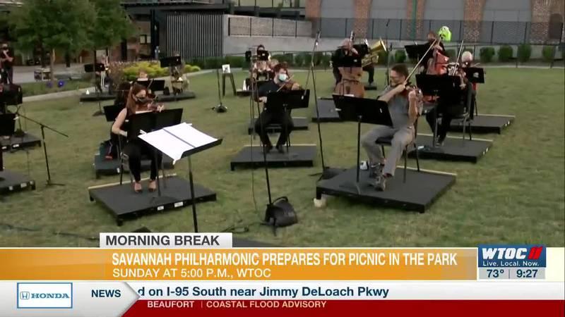 Savannah Philharmonic Prepares for Picnic in the Park
