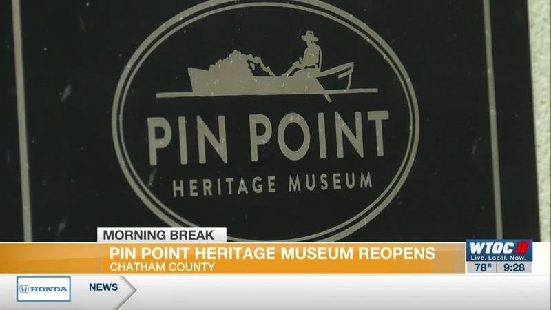 Pin Point Heritage Museum reopens