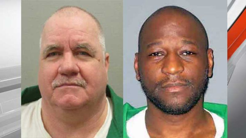 South Carolina is set to carry out two executions of these two men (Brad Sigmon, left, and...
