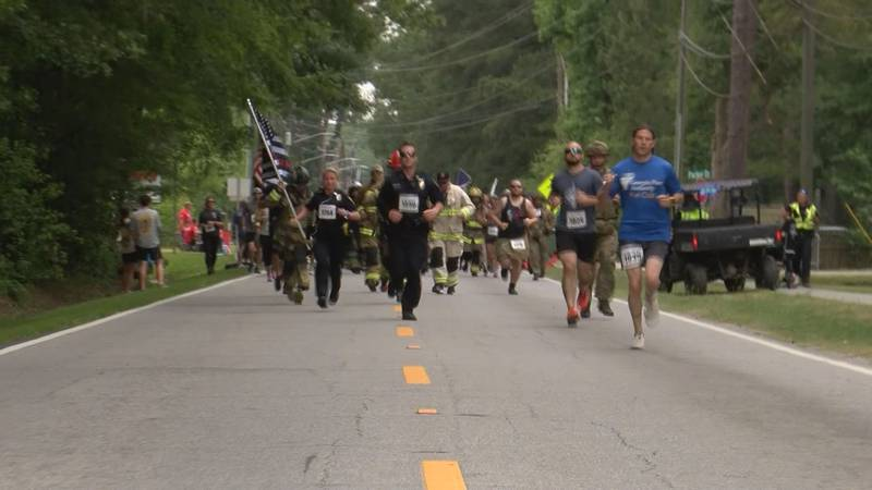 """The 200 Club of the Coastal Empire held their """"Run for Heroes"""" in Pooler on Saturday."""