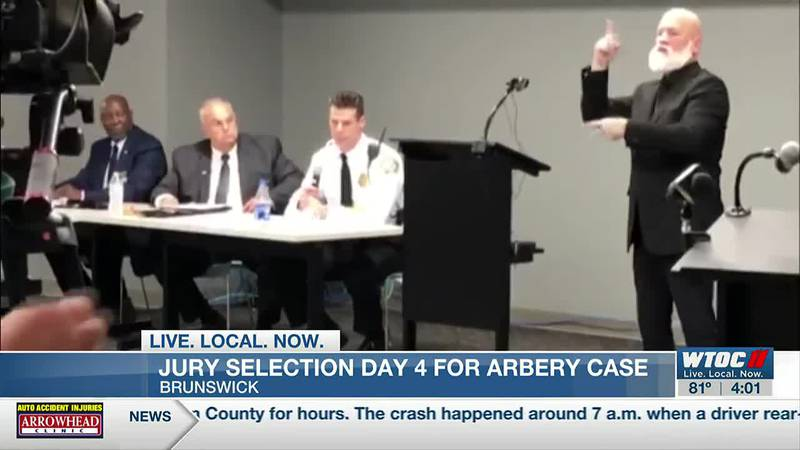 Businesses preparing for influx of crowds as Arbery murder trial enters day 4 of jury selection