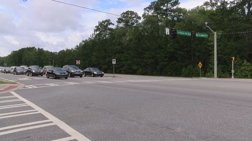 Location for the new crime lab on Isaac LaRoche Drive at Pooler Parkway. (Source: WTOC)