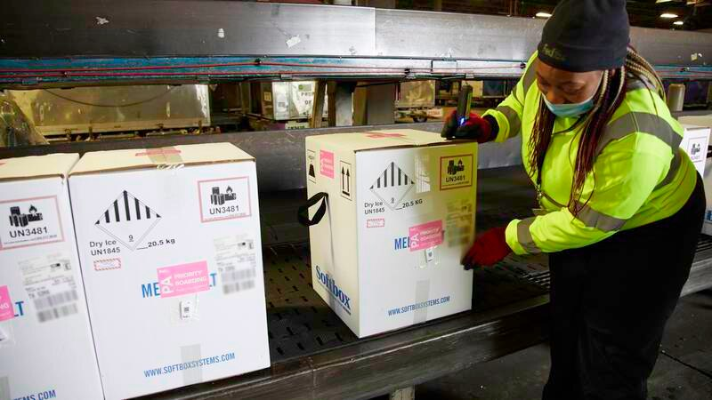 FedEx safely delivers first COVID-19 vaccines (Source: FedEx)