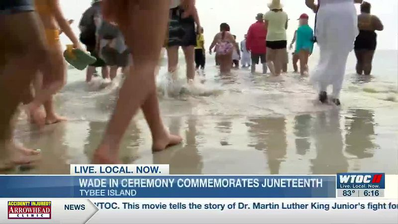 Tybee Island celebrates Juneteenth with annual wade-in