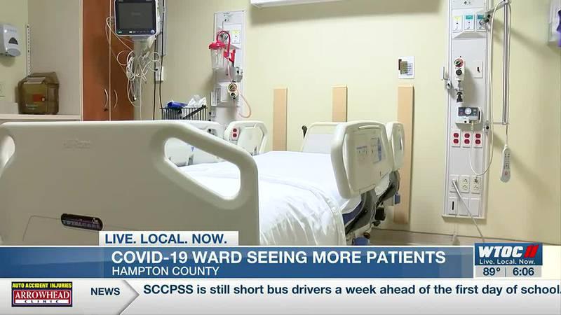Hampton Regional seeing rise in COVID patients