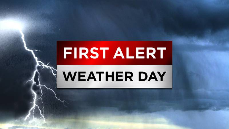 A stormy First Alert Weather Day is forecast for Thursday across the WTOC Viewing Area.