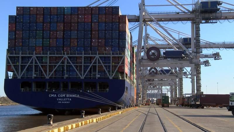 Port of Savannah. Source: WTOC
