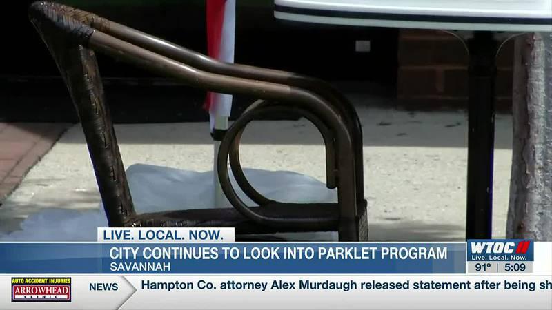 Savannah city leaders continue to look into parklet program