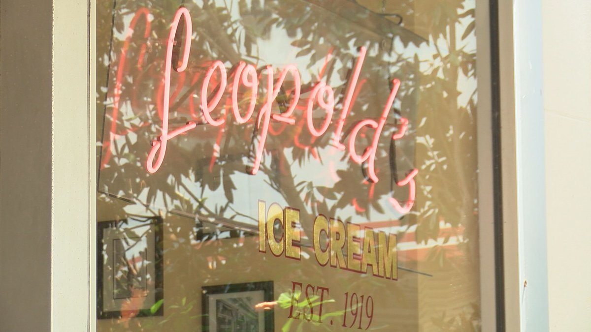 Leopold's Ice Cream in Savannah, Ga.