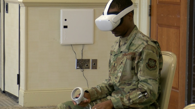 The Air Force says they hope a new immersive technology can start to bring that number down by...