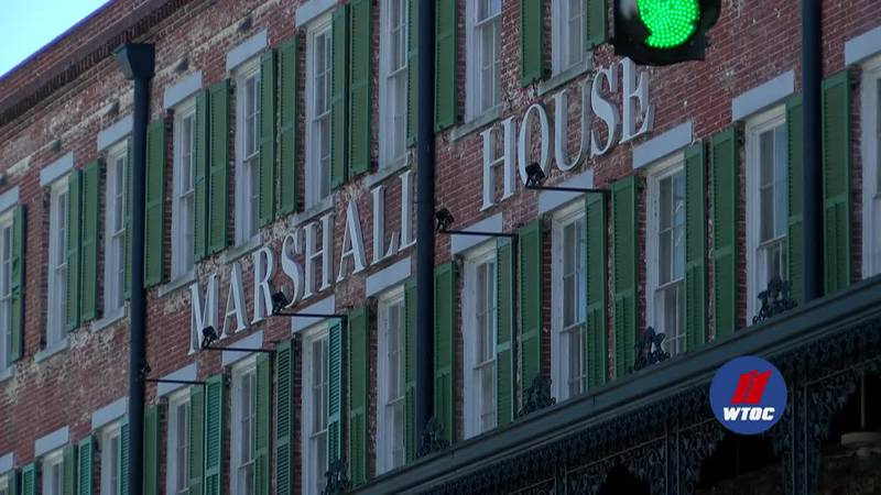 WTOC's Jake Wallace learns the story of the reported hauntings of The Marshall House.