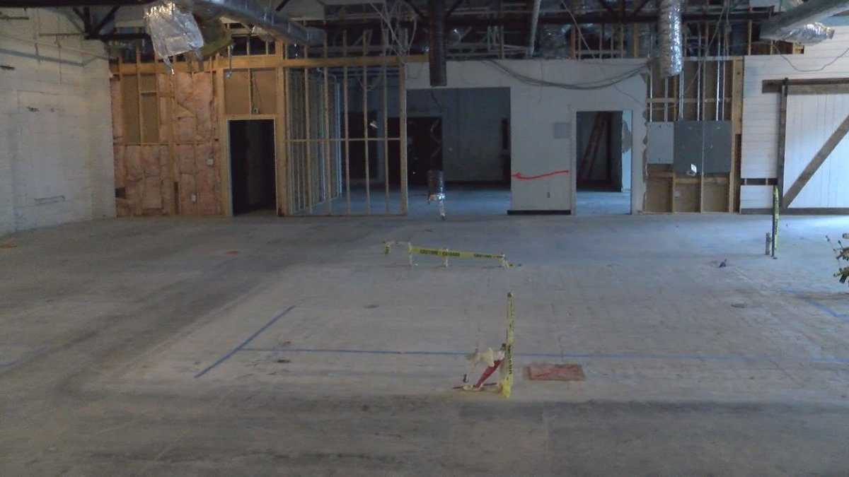 We're getting a look at the new Corporate Headquarters for the Girl Scout. The organization was...