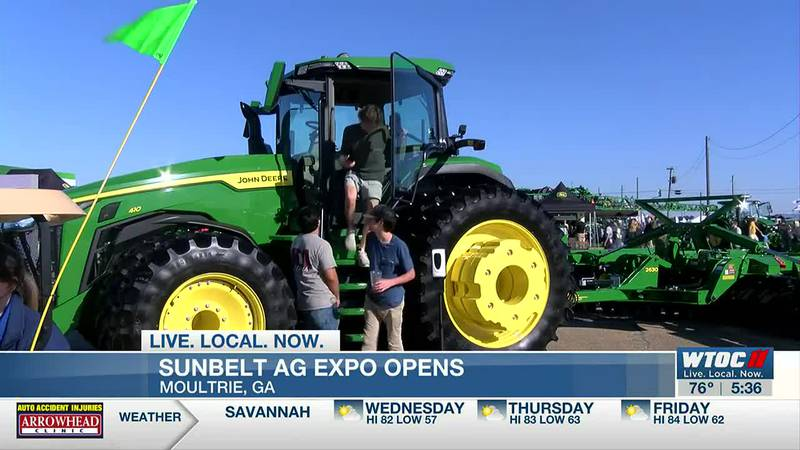 Sunbelt Ag Expo opens with lots of new equipment, technology