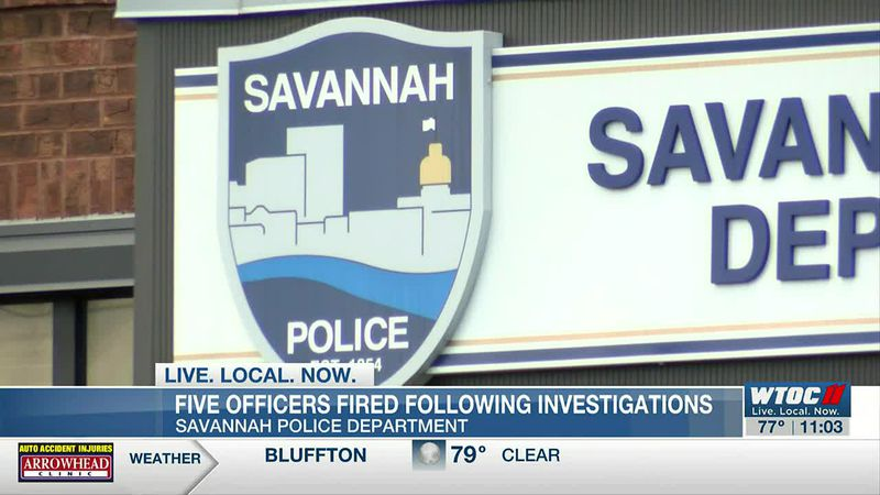 Savannah police officers fired after in-custody death