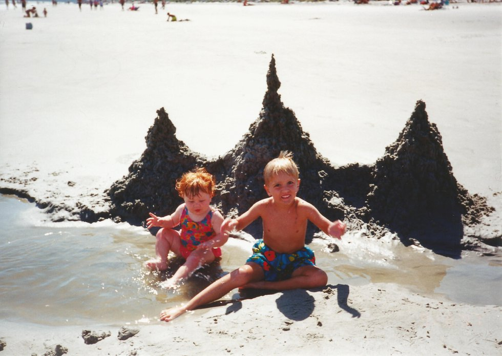Dylan Mulligan started building sandcastles at a young age.