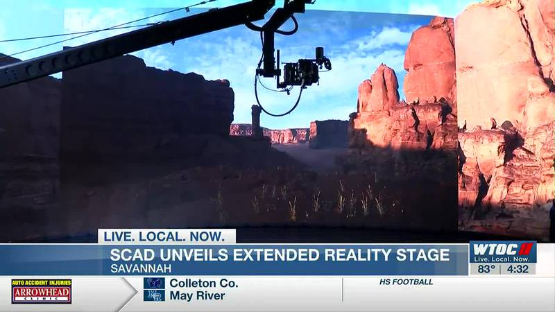 SCAD debuts new extended reality stage