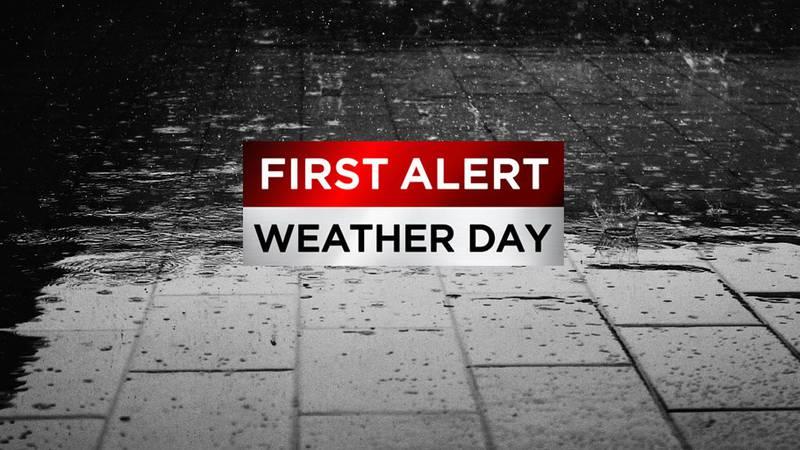 Heavy rain, flooding possible through Monday