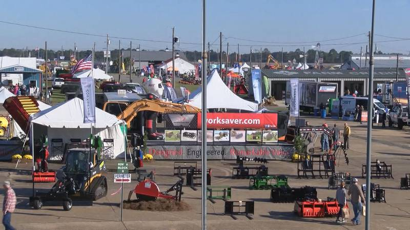 The 2021 Sunbelt Ag-Expo in Moultrie, Georgia is happening this week.