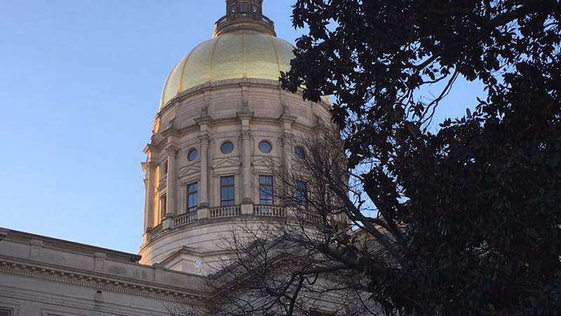 Georgia State Capitol in Atlanta.