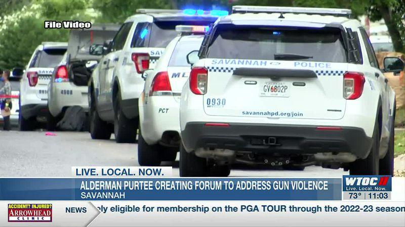 Savannah alderman planning community forum to address gun violence in wake of mass shooting
