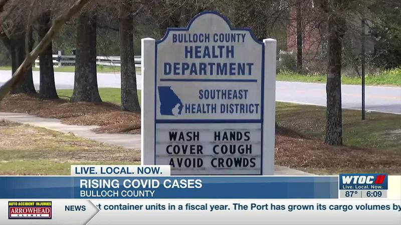 Emergency leaders concerned by recent rise in COVID-19 cases in Bulloch Co.