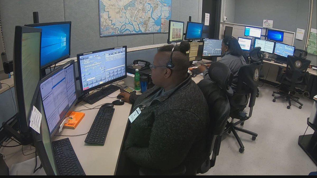 Inside the Chatham 911 Center