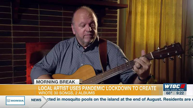 Local musician uses pandemic lockdown to create 2 new albums