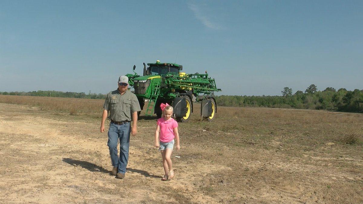 Reid Turner is a fourth-generation farmer in Baxley