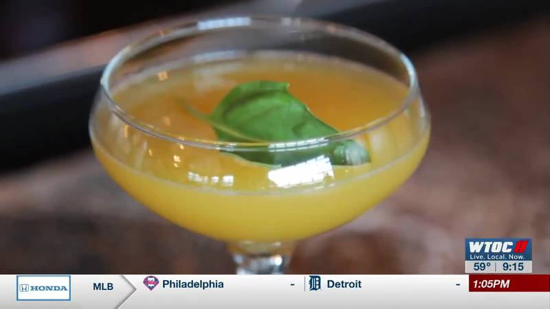"""Happy National Cocktail Day! Learn how to make a """"It's the Mango for Me"""""""