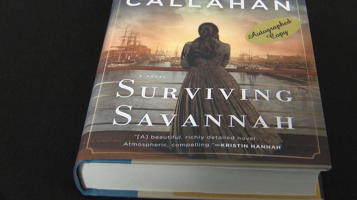 A new book hit the shelves Tuesday called Surviving Savannah.