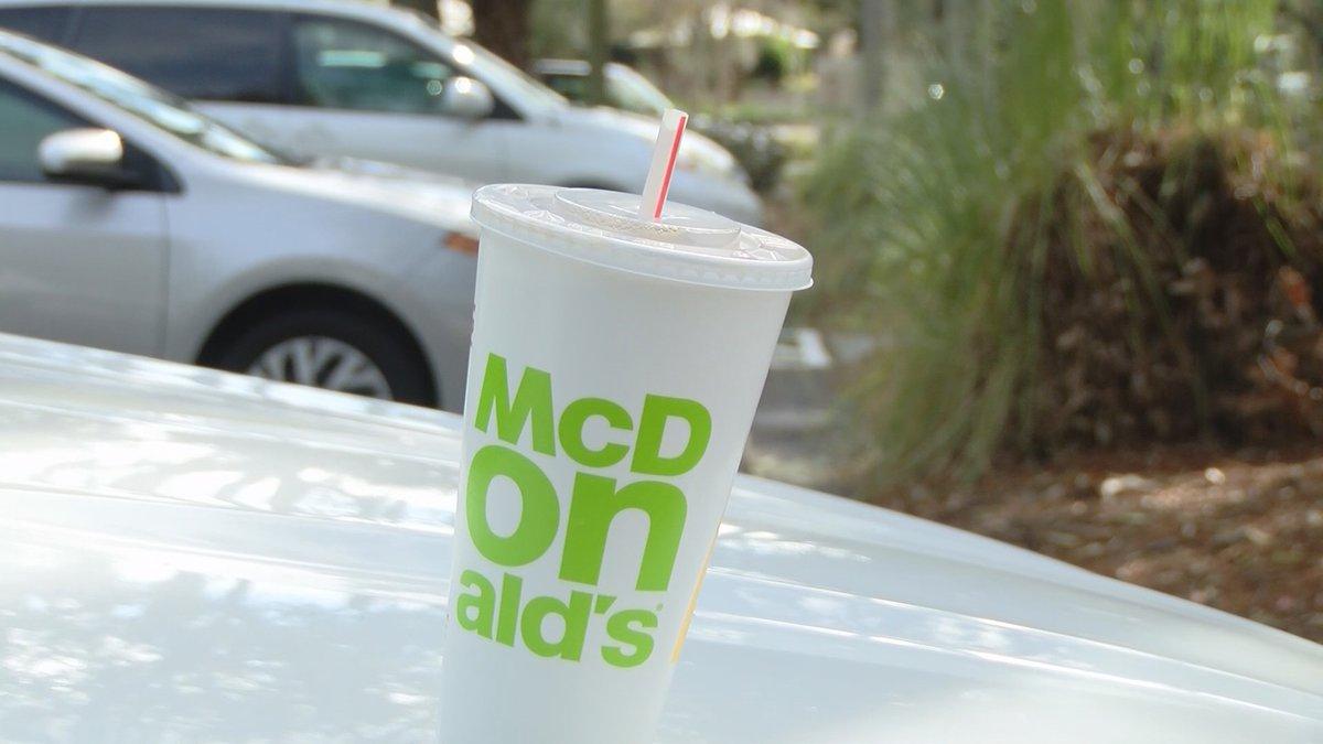 Man says he found marijuana in his McDonald's sweet tea