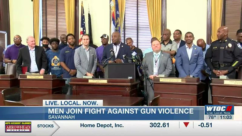 Savannah mayor announces new initiative in campaign to address gun violence