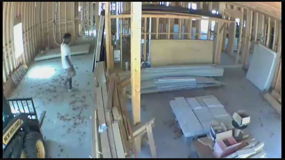 Surveillance video appears to show Ahmaud Arbery inside a home under construction minutes...