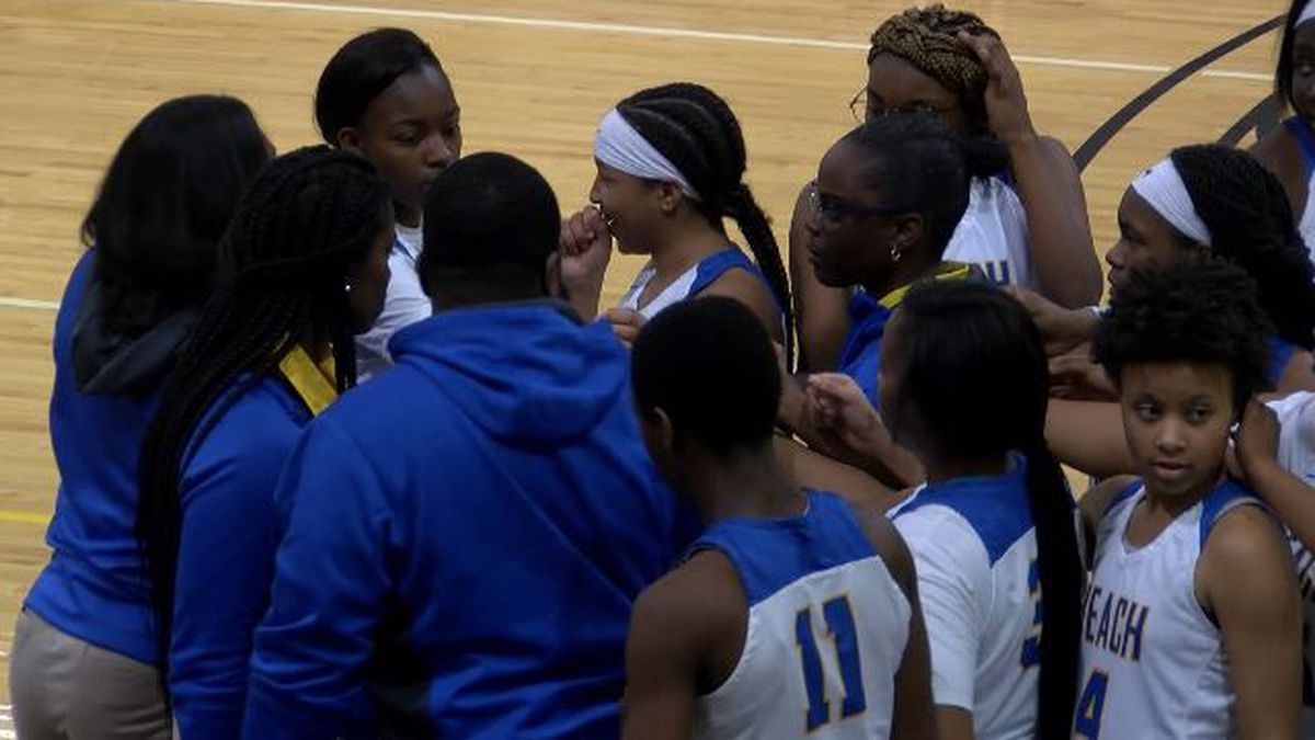 The Beach girls will host Central High School of Macon in the Class AAA Sweet 16.