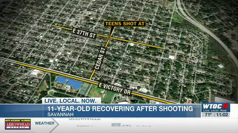 11-year-old recovering from shooting, Savannah alderman says kids questioned at scene without...