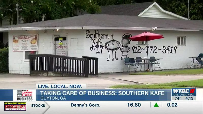 Taking Care of Business: Small town, big support