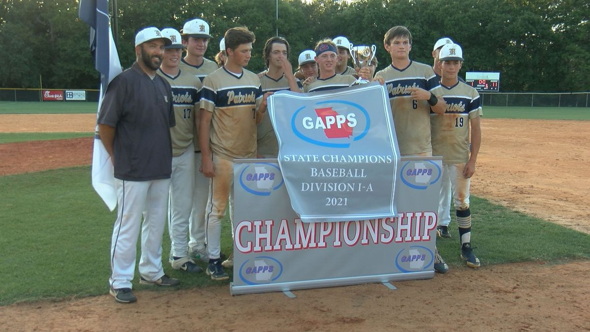 The Habersham School wins the 2021 GAPPS Division 1A State Baseball Championship.