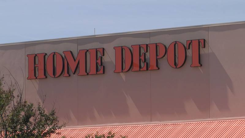FILE - A generic photo of a Home Depot building.
