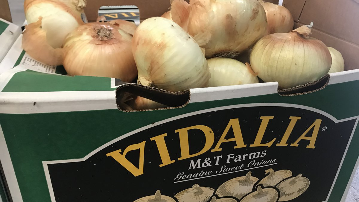 The Haygood's onions are sent across the East Coast, Midwest and even Canada.