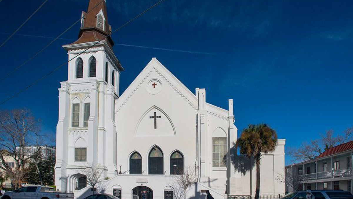 The front of Emanuel AME church in downtown Charleston (Source: Emanuel AME)