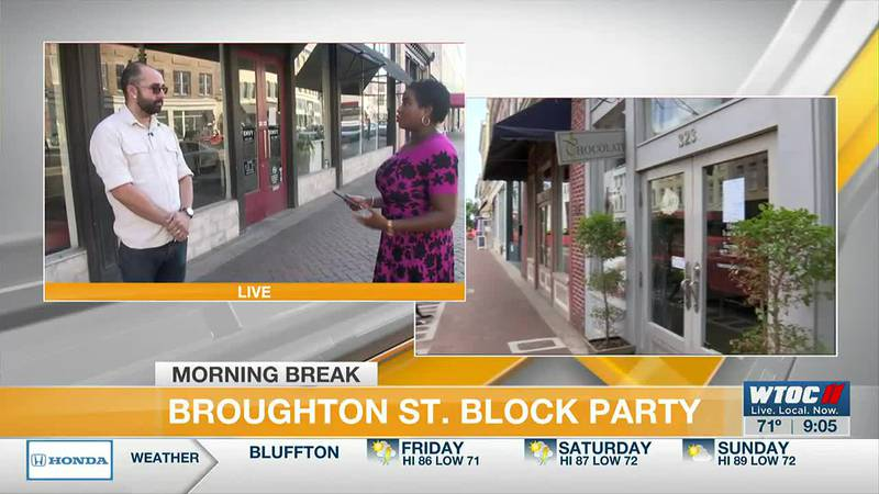 City of Savannah hosts Explore Broughton Community Day, gives updates on streetscape project