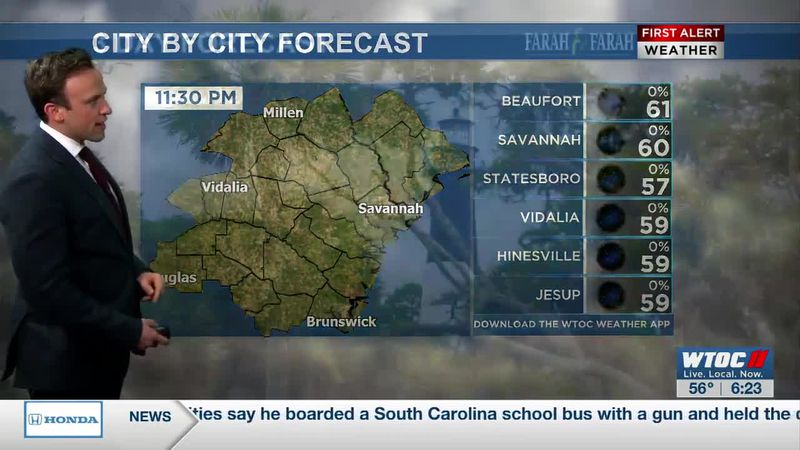 VIDEO | Windy, but nice, Friday afternoon