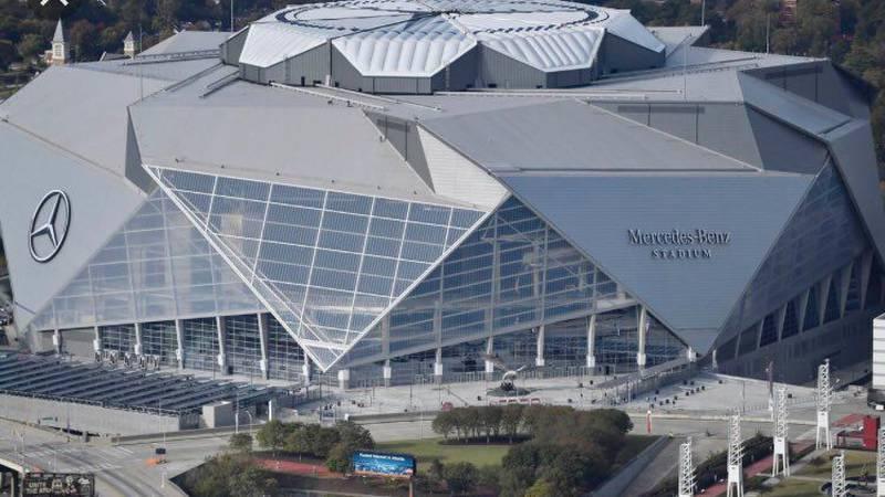 Mercedes Benz Stadium, Atlanta, Ga.