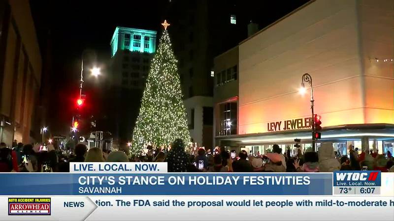 Planning started for what the holiday season will look like in Savannah