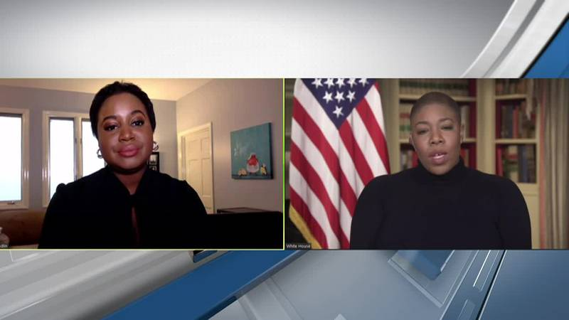 Vice President Kamala Harris' chief of staff discusses COVID-19 vaccine rollout