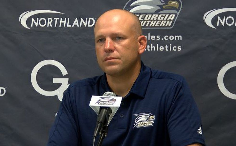 Eagles' head coach Chad Lunsford says Southern is excited for Saturday's game  at LSU.