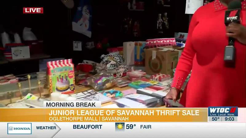 Junior League of Savannah thrift sale